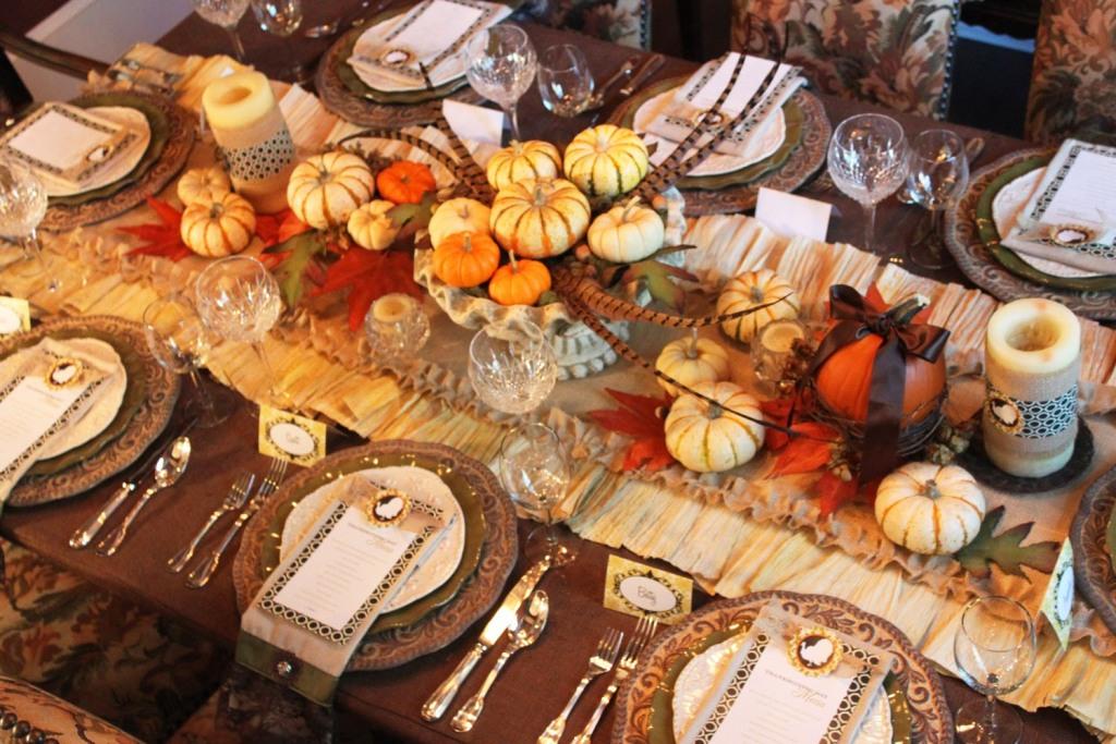 Cheap Thanksgiving Decorating Ideas